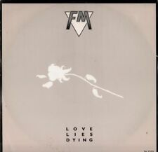 "FM(12"" Vinyl)Love Lies Dying-Portrait-TA 7233-UK-1986-VG/Ex+"