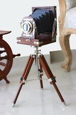 Vintage Nautical Old Movie Film camera Folding Cameras Studio Photography Replic