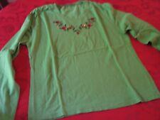 Tee shirt manche longue vert Mary Kimberley T 3