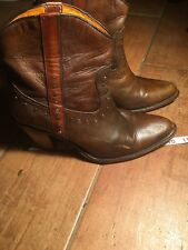 Frye booties marked size 7 (fits More Like 8)