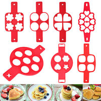 Nonstick Silicone Omelette Pancake Egg Ring Cake Maker Kitchen Mold Tools Mould