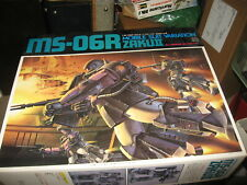 Mint in box Mobile Suit: MS-06R Zaku II by Ban Dai 1/60 scale