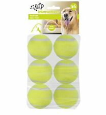 New listing All for Paws Interactive Tennis Balls, 6 Pack Dog Ball Toys, 2 inch (Pack of 6)