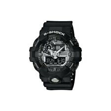 *NEW* CASIO MENS G SHOCK BLACK SILV 3D DIAL WATCH OVERSIZE XL GA-710-1a  RRP£169