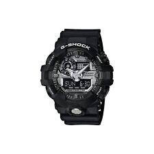 *NEW* CASIO MENS G SHOCK BLACK SILV 3D DIAL WATCH OVERSIZE XL GA-710-1a  RRP£169