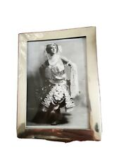 More details for silver art deco fully marked picture/photo frame