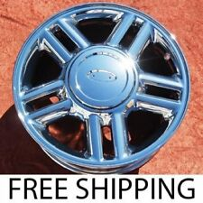 "SET OF 4 CHROME 17"" FORD EXPEDITION OEM WHEELS RIMS F-150 LINCOLN NAVIGATOR 3517"