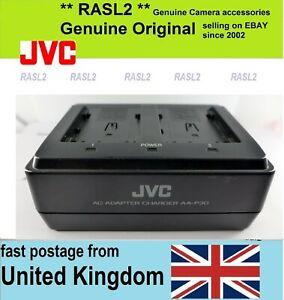 Genuine JVC AC Adapter battery Charger AA-P30U, BN-V428U DV400E 500E 700E 800E