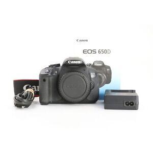 Canon EOS 650D + 44 Tsd. Auslösungen + Sehr Gut (231788)