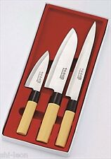 Nakamura Koumei Economical Japanese kitchen knife Set of 3 NK-8601