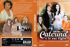 """3 COFANETTI 9 DVD SERIE TVINEDITA """"CATERINA E LE SUE FIGLIE"""" 3 STAGIONI"""