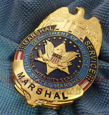 US Department Justice Federal Enforcement Agency Magistrate Obsole Metal Badges