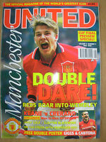 MANCHESTER UNITED OFFICIAL MAGAZINE VOL 4 No 5 MAY 1996 FA CUP FINAL PREVIEW