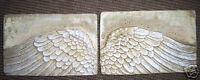 Angel wings plastic mold plastic concrete plaster mould