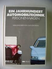 Ein Jahrhundert Automobiltechnik Personenwagen 1986