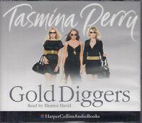 Gold Diggers Tasmina Perry 6CD Audio Book Eleanor David Abridged FASTPOST