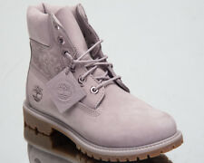 Timberland Women's 6 Inch Premium Waterproof Boots Lifestyle Shoes Grey A1SXZ