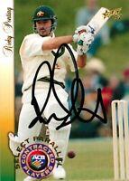 ✺Signed✺ 1996 1997 AUSTRALIA Cricket Card RICKY PONTING