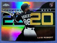 2020 Topps Update Chrome LUIS ROBERT Decades Next Refractor #DNC-2 RC White Sox