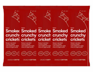 Crunchy Critters Smoked crunchy crickets 5 x 10g