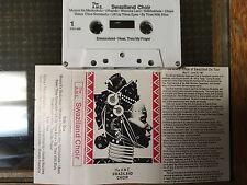 The African Methodist Episcopal (Ame) Choir of Swaziland Choir rare 1987 Us tour