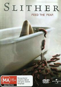 Slither DVD 2006 B-GRADE Horror Comedy Zombie Alien Movie - AUSTRALIAN REGION 4