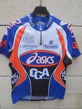 VINTAGE Maillot cycliste ASICS CGA maglia ciclismo shirt 1998 shirt trikot L