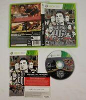 Sleeping Dogs (Microsoft Xbox 360, 2012) CIB Complete With Manual