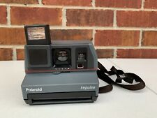 Vintage Polaroid 600 Impulse Portrait Instant Camera with Built in Flash