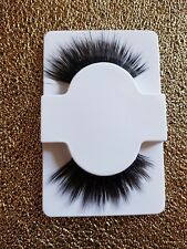 NEW black DRAMATIC look winged FALSE eyelashes HALLOWEEN drag queen Mwah lashes