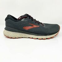 Brooks Mens Adrenaline GTS 20 1103072E029 Black Running Shoes Size 9.5 2E Wide