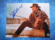 Clint Eastwood Hand Signed 8x10 Photo COA