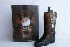 Avon Wild Country Cologne 50th Anniversary Boot Shaped Bottle