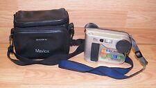 *Untested* Sony (MVC-FD75) FD Mavica Digital Still Camera w/ Case & Neck Strap