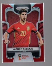 Marco Asensio 2018 PANINI PRIZM WORLD CUP RED PRIZMS #205 /149 Spain