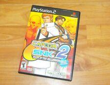 Capcom vs. SNK 2: Mark of the Millennium 2001 (PS2, 2001) ***Complete/Rare***
