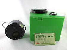 Fujinon CCTV EE LENS Model CF 12.5C-EE 1: 2.4/12.5 Auto Iris Fuji Photo Japan #1