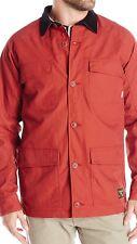 Burton Men's Delta Jacket dryride 2L/2 layer DWR coating NWT Size S Red Ochre