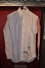 Thom Browne Signature Theme Crane Cloud Shirt Size 2