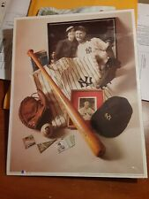 THE IRON HORSE-LOU GEHRIG~1st Edition Print 1993 Licensed Eleanor Gehrig Estate