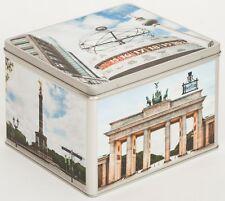 Álbum de fotografías metal lata caja blechbox Cookie Jar motivo Alemania Berlin