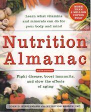 NUTRITION ALMANAC|John Kirschmann & Nutrition Search|Vitamins & Minerals|6th ed.
