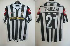 Maillot JUVENTUS TURIN 2002 vintage maglia shirt LOTTO calcio THURAM n°21 M