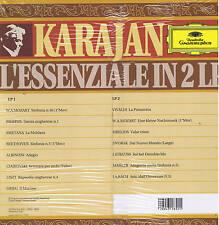 KARAJAN - l'essenziale in 2 LP - DG - ITALY sigillato SEALED