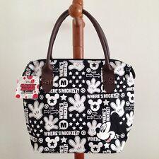 "DISNEY MICKEY MOUSE Bag Handbag Purse Tote Shopper Bag W 13"" x H 10"" cm (M)."