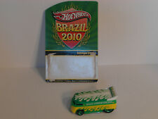 2010 HW Hot Wheels VW DRAG BUS BRAZIL Real Riders 3818//5,000 LOOSE & DAMAGED