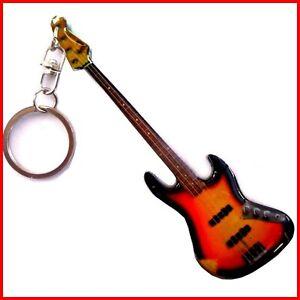 JACO PASTORIUS - GUITARE MINIATURE PORTE CLE ! JAZZ Rock Basse bassiste Electric