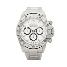 ROLEX DAYTONA ZENITH STAINLESS STEEL WATCH 16520 W5291