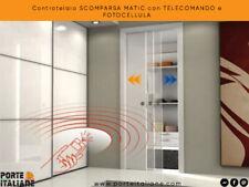 Controtelaio SCOMPARSA MATIC con TELECOMANDO e FOTOCELLULA