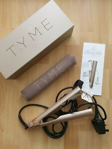 GENUINE UK Tyme Pro Curling Iron all-in-one curling & straightening - nearly new